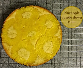 Recipe - Pineapple upside down cake