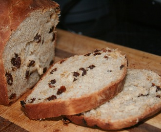 Raisin and Cinnamon Loaf