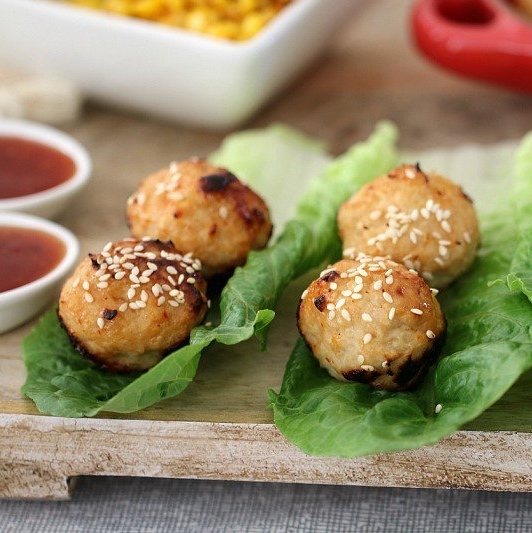 Thermomix Chicken Meatballs