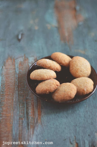 Coconut Cookies - Eggless