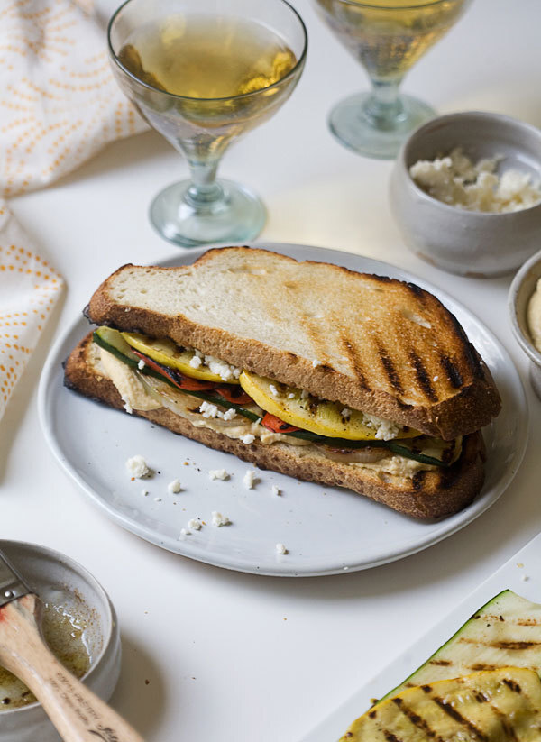It's Grilling Season! Make a Grilled Veggie Sandwich