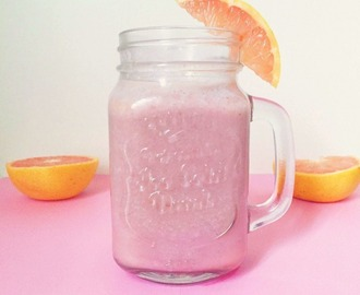 Vitamine C boost: grapefruit smoothie