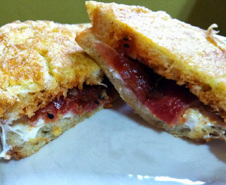 Burrata, Prosciutto and Tomato Chutney in Carrozza