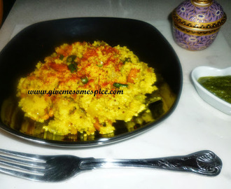 Spicy Couscous with potatoes and nuts (bateta couscous)