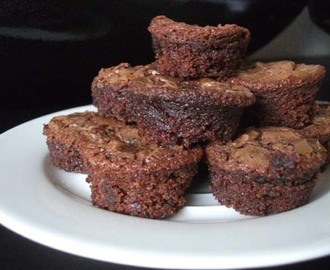 Nutella brownies bites