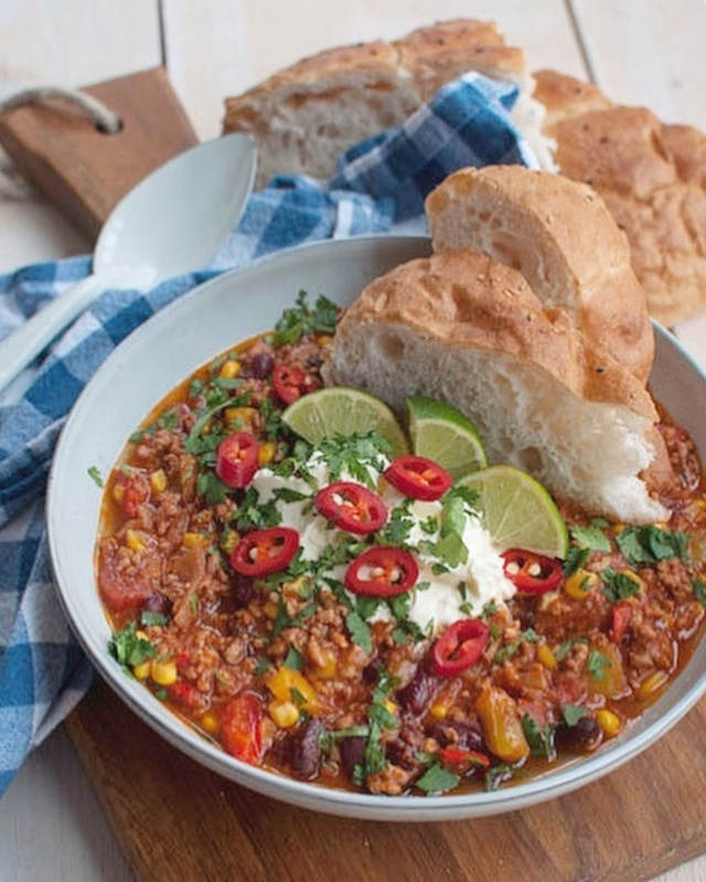 Recept: Chili con carne met chorizo - Savory Sweets