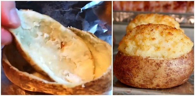 A simple recipe to prepare the best baked potatoes that you've ever eaten