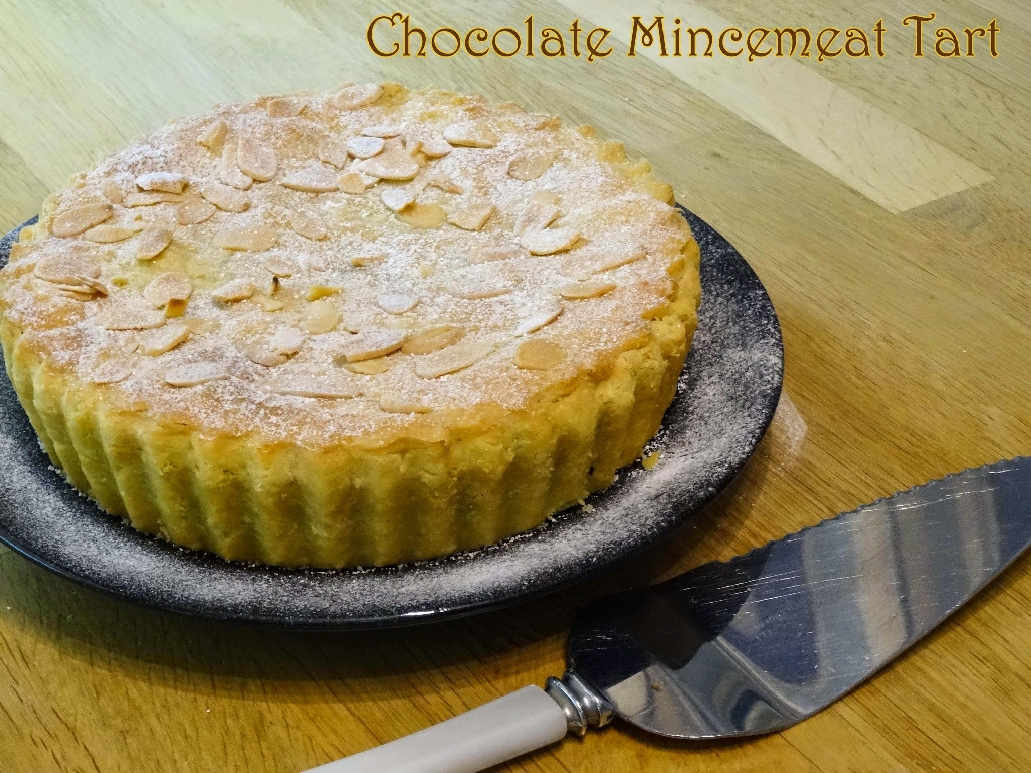 Chocolate Mincemeat Tart