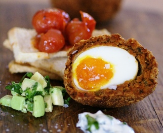 the warm soft mexican scotch egg  = the language i speak