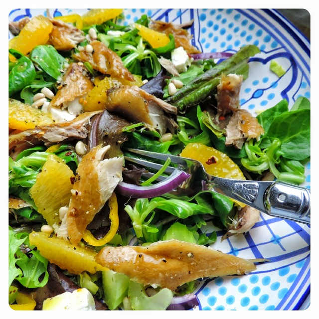 Mackerel & Orange Salad
