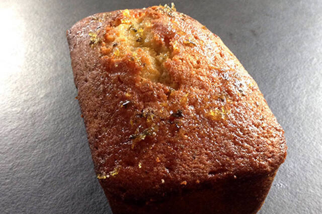 The Hummingbird Bakery's Lemon and Thyme Drizzle Cake