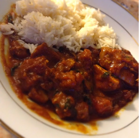 Chicken and Spinach Curry. (Slimming World Friendly..SYN FREE!!)