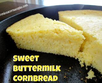 Sweet Buttermilk Cornbread