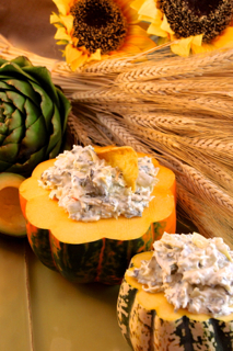 Cheesy Asiago Artichoke & Spinach Dip