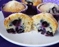 "Muffin de Blueberry ""Starbucks"""