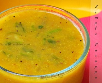 Simple Dhal/ South Indian Style paruppu