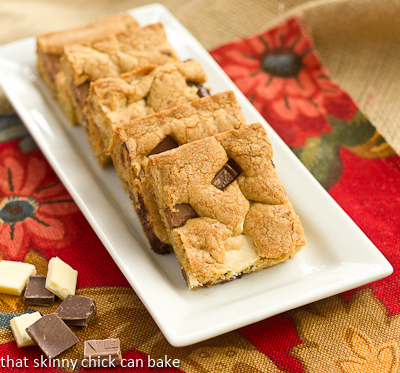 Brown Butter Chocolate Chunk Bars…#TwoSweetiePies, #TakeYourPlace, #FoodBloggersAgainstHunger
