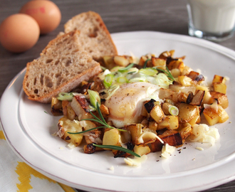 Skillet Potatoes and Eggs