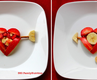 Fun Snack Creations: Cupids Fruit of Love