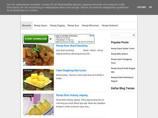 Menu Masakan Indonesia