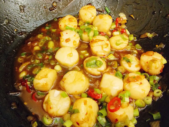 Saigon-Style Scallops...from Weight Watchers