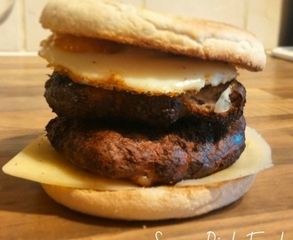 Slimming World Recipe:- Double Sausage & Egg McMuffin!