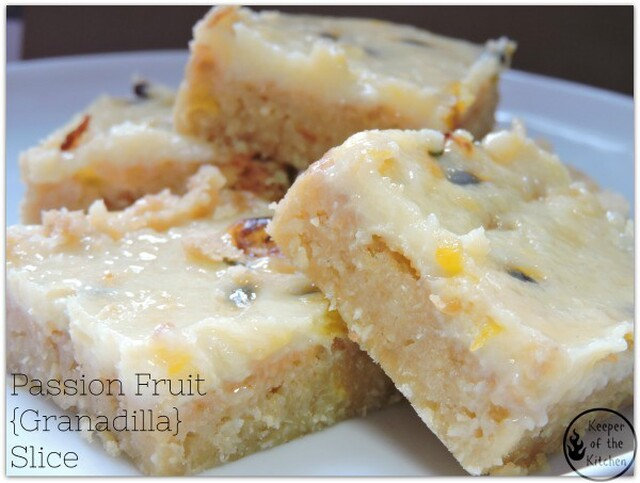 Passion Fruit (Granadilla) Slice