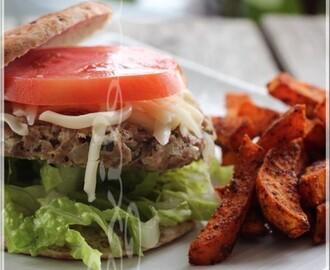 recettes de de burger peu calorique mytaste. Black Bedroom Furniture Sets. Home Design Ideas