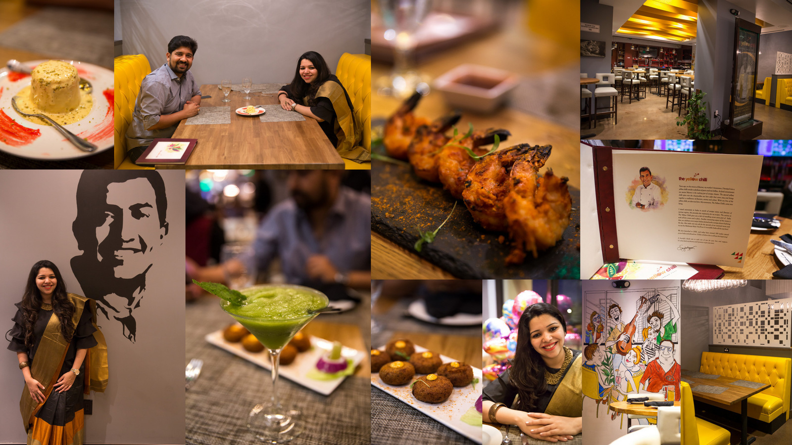 Birthday Celebrations 2018-Yellow Chilli Restaurant Review