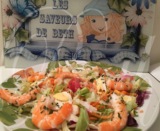 Salada com Frutos do Mar / Salade aux Fruits de Mer