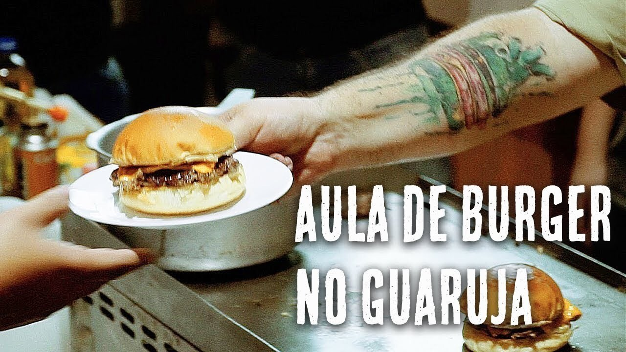 Aula de Hamburguer no Guarujá – Don Grill Burger