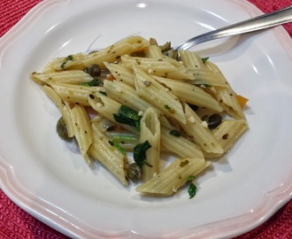 Penne Light com Rúcula