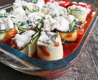 Courgette cannelloni uit Basics to Brilliance Kids
