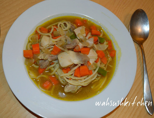 Chicken noodle soup, The Classic style