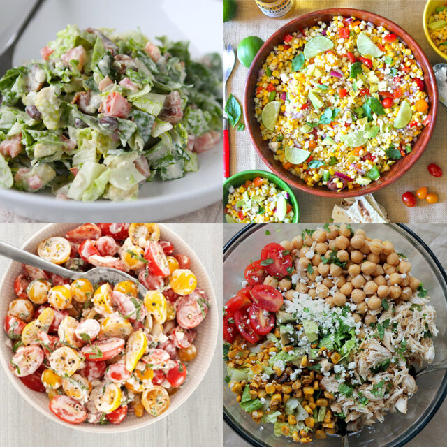 Eye Candy: Summer Salads