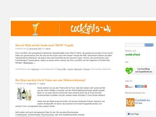 Cocktails-4u.de Cocktail, Drinks und Snacks Blog