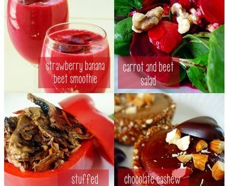 Raw Food Recipe Menu: February 10, 2013