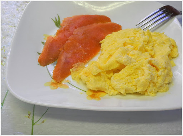 Creamy Scrambled Eggs with Smoked Salmon  IHCC