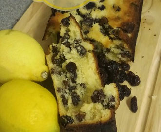 Recipe - Lemon & raisin loaf cake