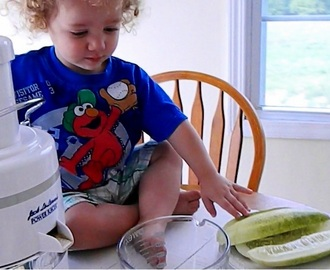 Let's Make Juice! ~ a Raw and Vegan Recipe for Kids!