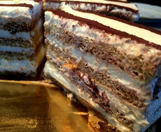Tiramisu torta  a la Mary Berry