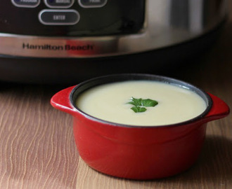Fennel Potato Leek Soup
