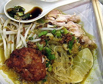 Indonesian Mee Soto Ayam