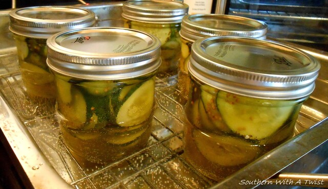Mama's Bread and Butter Pickles