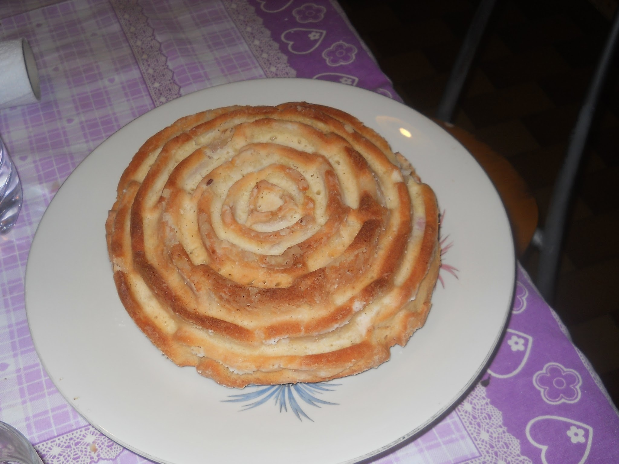 Torta mele light