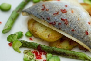 Weight Loss Recipe: Light Sea Bream With Chilli & Garlic
