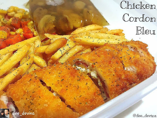 Chicken Cordon Bleu, Menu Buka Puasa Simple