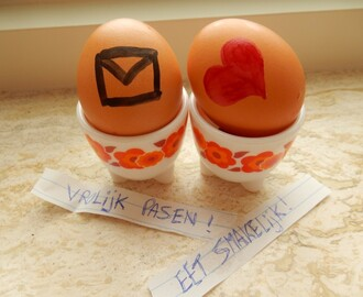 Pasen: hidden egg message