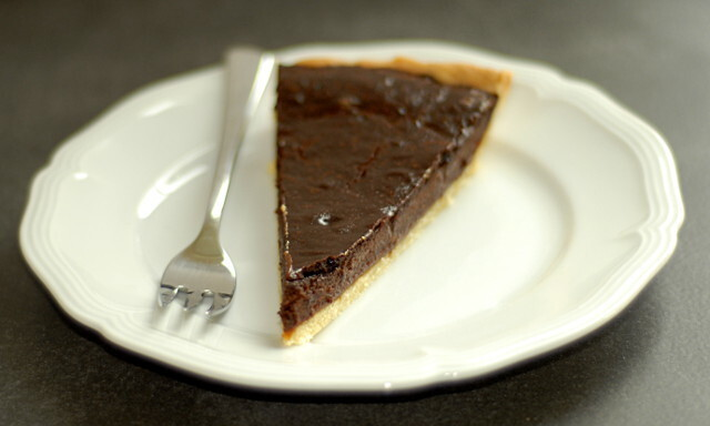 Schokoladen-Karamell-Tarte // Chocolate and Caramel Tart