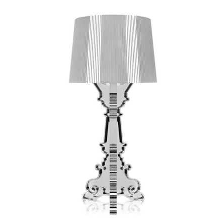Kartell Bourgie Bordslampa Silver